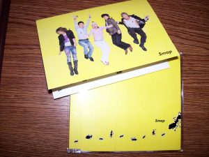 "Smap's ""arigatou"" single and card"