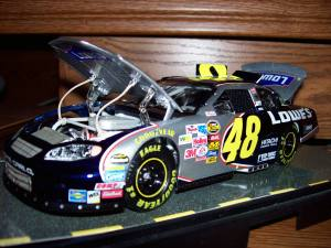 Jimmie Johnson elite series diecast