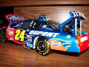 Jeff Gordon elite series diecast
