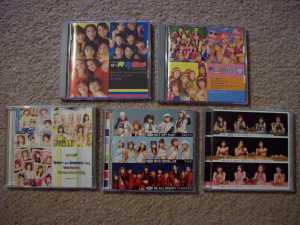 My shuffle groups dvd collection