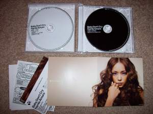 Amuro Namie's single- Baby Don't Cry