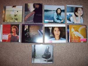My Matsu Takako album collection