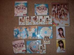 """""""The Man Power!!!"""" cds & dvd"""