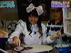 Kyamei's turn to make a crepe
