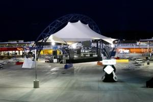LVMS-The Neon Garage