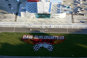 LVMS-frontstretch overhead view
