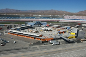 LVMS-A view from the backstretch