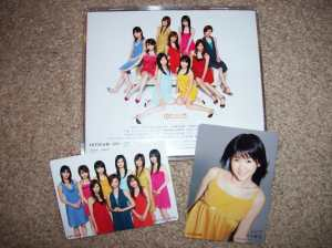 """""""Sexy 8 Beat"""" cd w/ 1st pressing photo cards."""