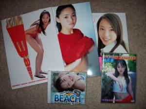 Suenaga Haruka shashinshuu's & DVDs.