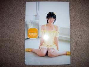 Momo's 1st solo shashinshuu.