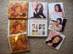 Miura Rieko album collection.