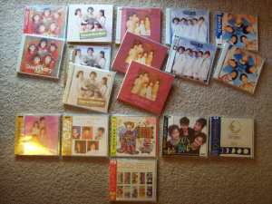 CoCo album collection.