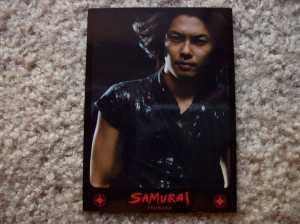 SAMURAI photo card