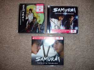 "Tackey & Tsubasa's ""SAMURAI"" releases."