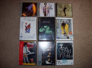 Ozaki Yutaka DVD collection