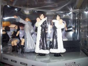 """Love Machine"" limited edition fan club figures."