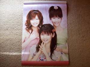 2008 Morning Musume calendar (March & April).