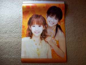 2008 Morning Musume calendar (September & october).