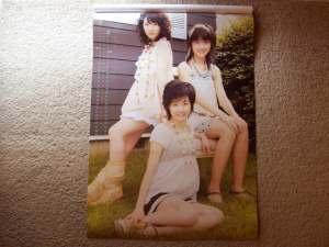 2008 Berryz Koubou calendar (March & April)