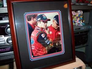 Jeff Gordon signed photograph