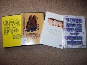 Princess Princess DVD collection