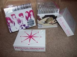 Princess Princess retrospective box sets Pr