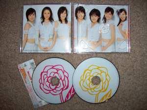 """Berryz Koubou """"Tsukiatteruno ni kataomoi"""" limited edition CD"""