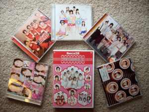 Berryz Koubou pv DVD single collection (part 3)