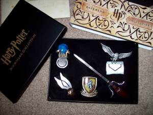 Harry Potter bookmark collection (set of 5)