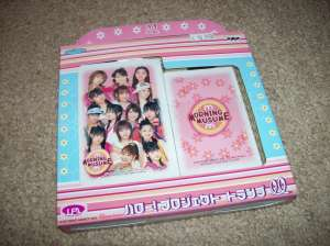 Official Hello! Project playing cards (Morning Musume set)