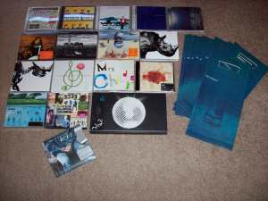 My Mr.Children album collection