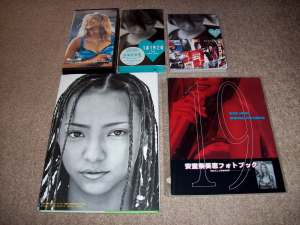 Amuro Namie live release, pv collection, and pbs.