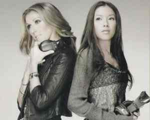 Celine Dion X Yuna Ito- A World to Believe in (back cover scan)