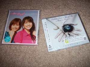 Collaboration releases: Abe Natsumi & Yajima Maimi/ Celine Dion & Yuna Ito single releases