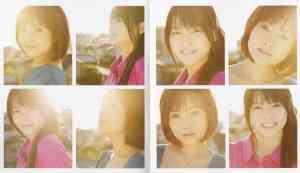 Nacchi & Maimichan Juurokusai no koinante (LE booklet scan4)