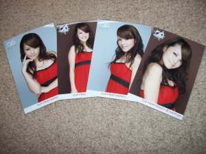 "Nakazawa Yuko ""Special Christmas Live 2007"" UFA photo set"