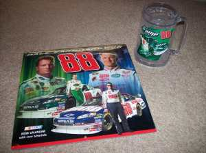 My first Dale Jr. merchandise!! :)