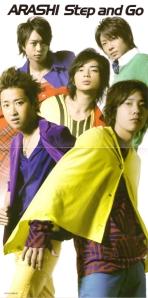 "Arashi ""Step and Go"" (LE jacket scan)"