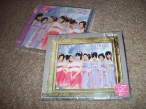 "C-ute ""LA LA LA shiawase no uta"" LE & RE CDs"