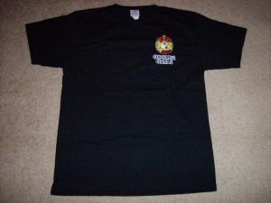 Ongaku Gatas 1st concert tour t-shirt (front)