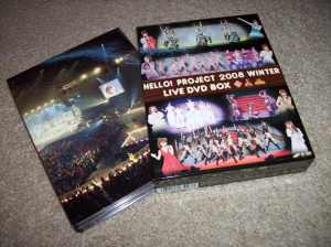 Hello! Project 2008 Winter Live DVD Box