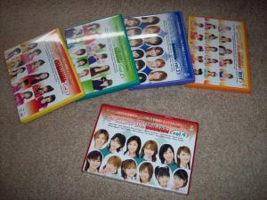 "My ""Morning Musume ~Best Shot~"" collection"