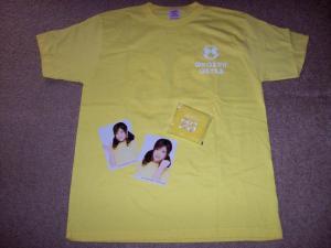 Sengoku Minami Ongaku Gatas t-shirt set (front)