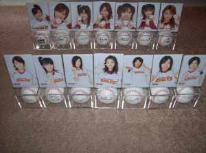 H!P/Rakuten Eagles collaboration baseballs