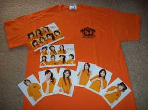 Ongaku Gatas in Hawaii fan club merchandise