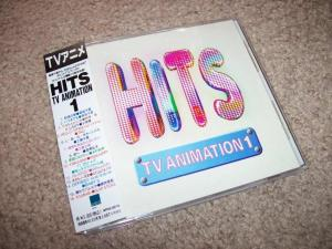 """HITS TV ANIMATION 1"" CD (WPC6-8214)"