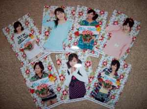 "C-ute Hawaii ""Alo-Hello"" UFA photo set"