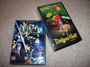 Ninja Scroll & Dragon Half releases