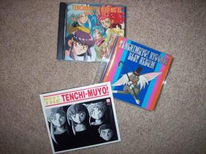 My Tenchi Muyo! soundtrack CDs