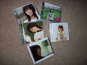 My Akiyama Nana CD collection
